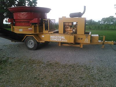 Ig8 Haybuster Industrial Tub Grinder Wood/mulch