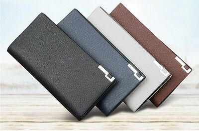 Mens Brand New 2019 Soft PU Leather Wallet/Credit Card Holder