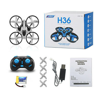 JJRC H36 Mini RC Quadcopter 2.4GHz 4CH 6 Axis Gyro with Headless Speed Switch