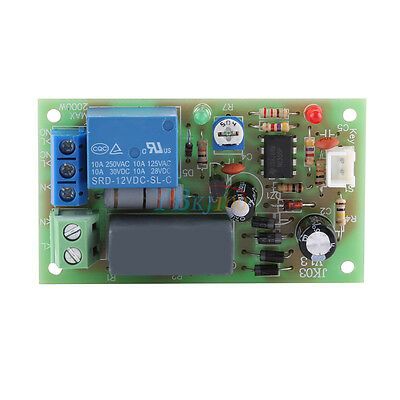 AC220V Input/Output Timer Delay Switch Module Turn Off Board Adjustable Time SP