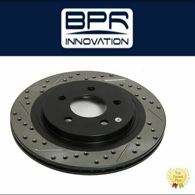 StopTech Set Pair Front Left /& Right Slotted Brake Rotors For Nissan Infiniti