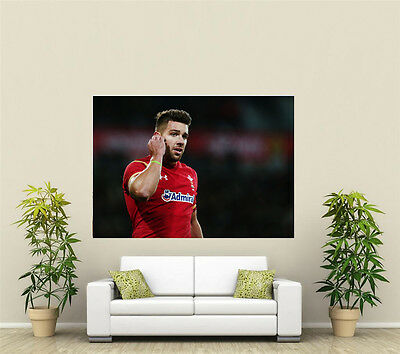 Rhys Webb Welsh Rugby Giant 1 Piece  Wall Art Poster SP265