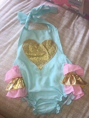 Baby Girl Swimsuit Ice Cream Colours 12-24 Months
