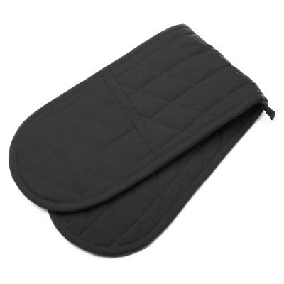 NEW Rans Black Manhattan Double Oven Glove
