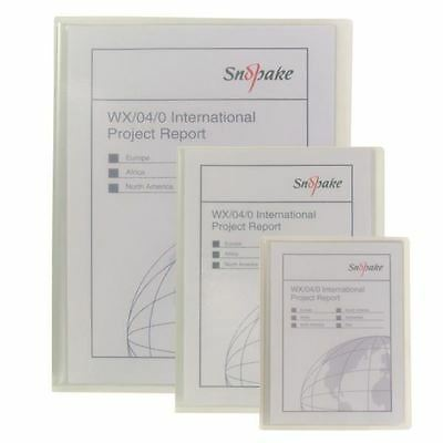 Snopake Superline A5 Presentation Book 20 Pocket Polypropylene Clear [SK02777]