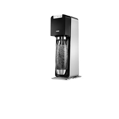 SodaStream  Source Power Silver/Black Metal Machine
