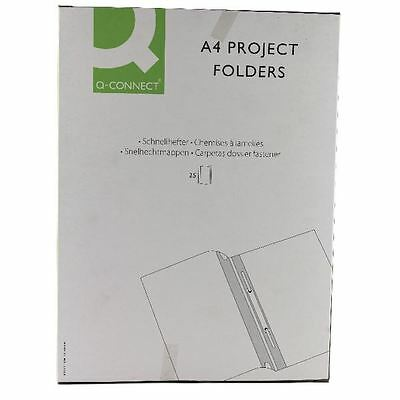 Q-Connect Blue A4 Project Folder (Pack of 25) KF01454 [KF01454]