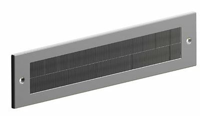 Letter Box Cover Draught Excluder For Internal Use - Silver Finish