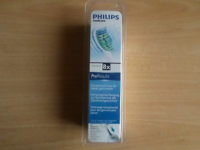 Philips Sonicare ProResults Standard 8 x Replacement Brush Heads, HX6018/26