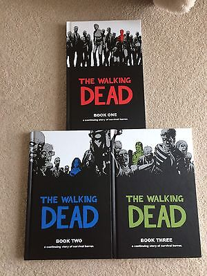The Walking Dead Books 1, 2 + 3