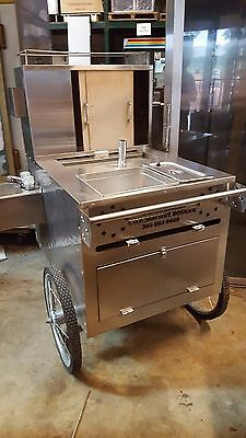 Used All American Push Hot Dog Cart Includes Free Shipping