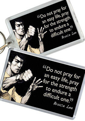 Bruce Lee - Quote - Fridge Magnet - Keyring