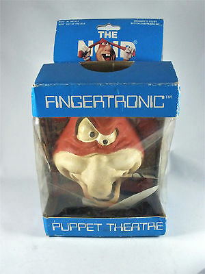 Vintage 1980s Dominos Pizza The Noid Fingertronic Finger Puppet In The Box