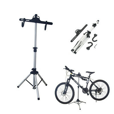 [NEW] Bike Bicycle Repair Maintenance Stand Folding Workstand Adjustable Holder