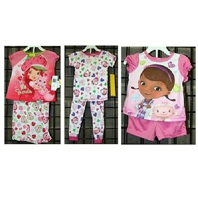 Girls sizes 12M-8 Assorted two piece pajama [21DD034]