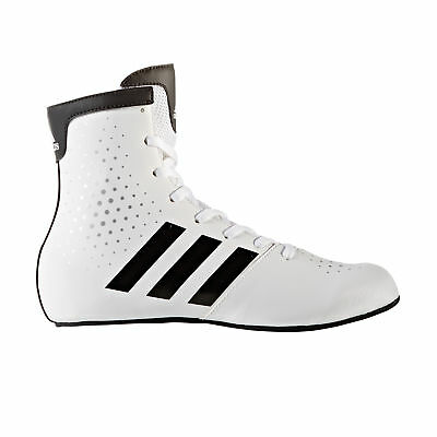 adidas KO Legend 16.2 Kids Boxing Trainer Shoe Boot White/Black
