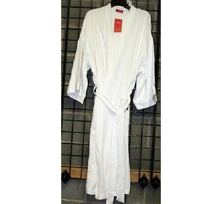 IZOD Mens one size fits all cotton/poly waffle bath robe 12pcs. [MIZWWROBE]