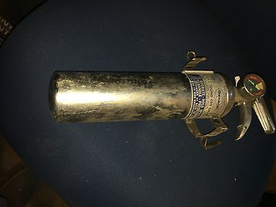 General Chrome Fire Extinguisher 2 3/4 lb Dry Chemical Vintage 1960's