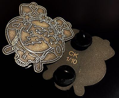 Grateful Dead And Company Chicago Wrigley Field Pin Rare Raw Limited Edition