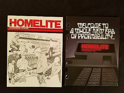 """Homelite Accessories"" Catalog Chain Saws Trimmers Pumps Generators More 1980"