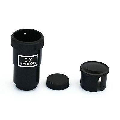 """US Free Ship 1.25"""" 31.7mm 3X Barlow Lens for Telescope Eyepieces Astronomy"""