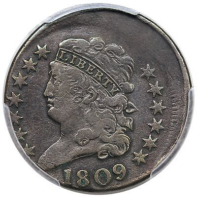 1809 Classic Head Half Cent, C-3, struck 10% off center, PCGS VF25