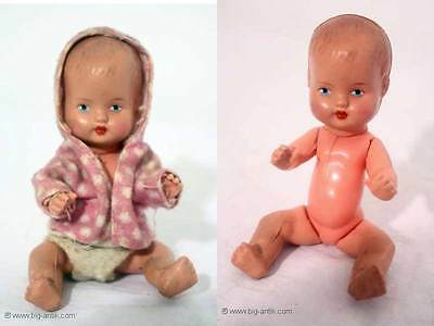 Wunderschöne Süße antike Puppe / Plastikpuppe Baby Sweet beautiful antique Doll