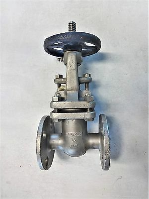 "Powell 3/4"" 150# Flanged Cn7M Cf8M Gate Valve, Fig# 2495"