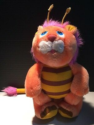 Vintage 1984 WUZZLES BUMBLE-LION Walt Disney Hasbro Softies Stuffed Animal Plush