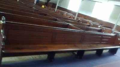 1885 Genuine Antique Pitch Pine Pews