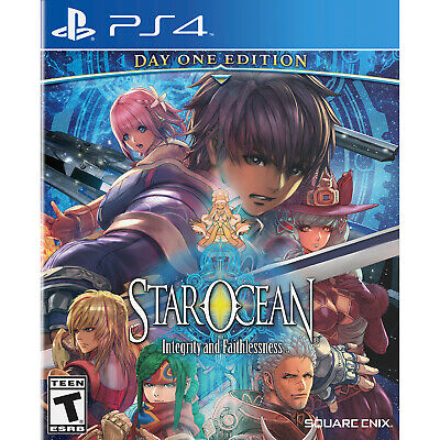 Star Ocean: Integrity and Faithlessness PS4 [Factory Refurbished]