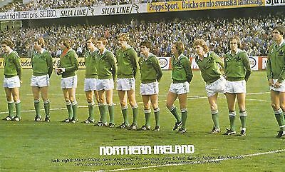 Northern Ireland 1982 Team Photo Print.