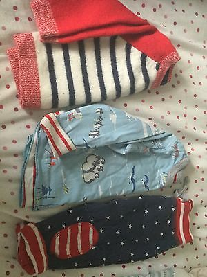 boden 6-12 months reversible bottoms and top and coordinating jumper