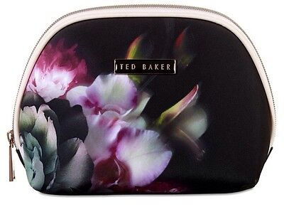Ted Baker Beauty Make Up Small Black Floral New