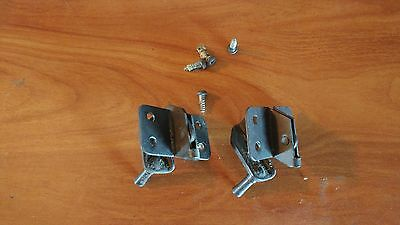 Vintage Singer Sewing Machine Cabinet Hinges