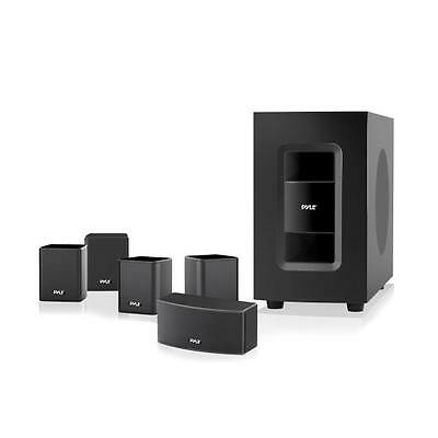 5.1 Channel Home Theater System Active Subwoofer & Surround Sound Speakers