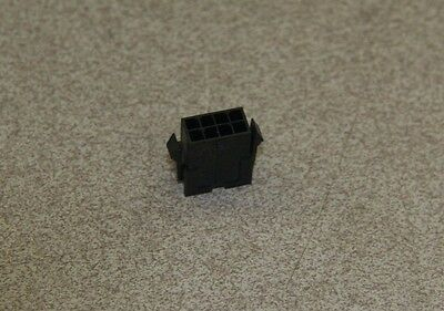 Molex           P#43020-0800          Connector Plug Dual Row 8 Pos