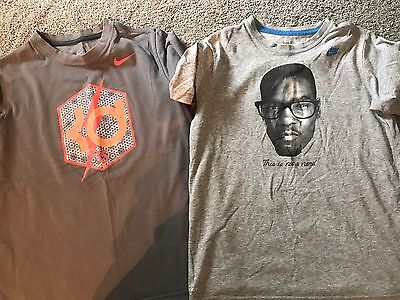 Nike Boys DRI-FIT T-Shirts KD (Lot of 2) Size M Youth  GUC