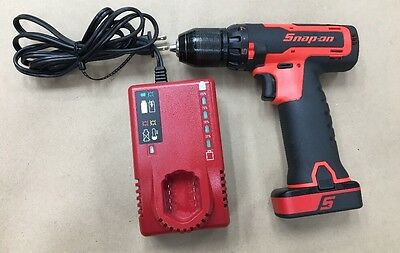 """Snap On CDR761AO 3/8"""" 14.4v Li-ion Drill / Driver Kit w/ 1 Battery & Charger"""