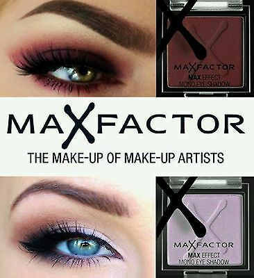 Max Factor Max Effect Mono Eyeshadow CHOOSE YOUR SHADE