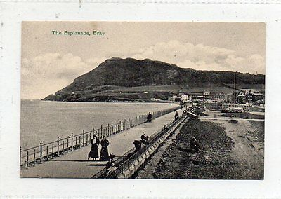 """""postcard The Esplanade,bray,co.wicklow,ireland"""""