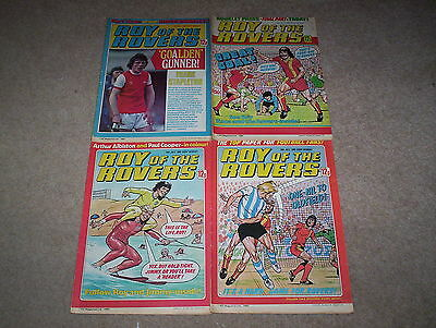 4 x Roy of the Rovers Weekly Comics Dated July 1980