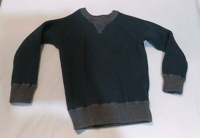 Baby Gap 5 Years green and gray long sleeve sweater toddler boys
