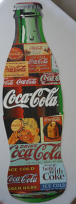 Coca-Cola Bottle Shaped Jigsaw Puzzle in Square Tin Complete
