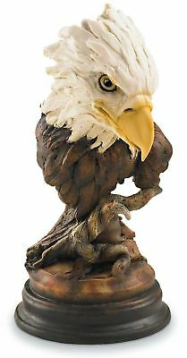 Aerie Bald Eagle Sculpture by Stephen Herrero