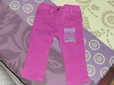 Jeans rose Losan taille 9 mois