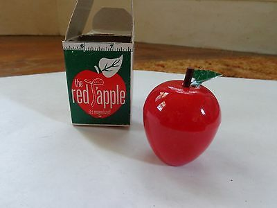 Vintage The Red T'Apple Measuring Tape