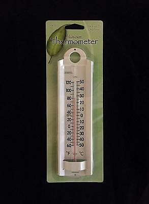 Springfield 90121 Aluminum Thermometer, 8-3/4""