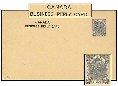 Canada ½¢ Cbn Profile Psc Hdng  T9 No Period P61