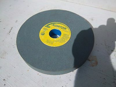 Norton silicon carbide grinding wheel 8 inch